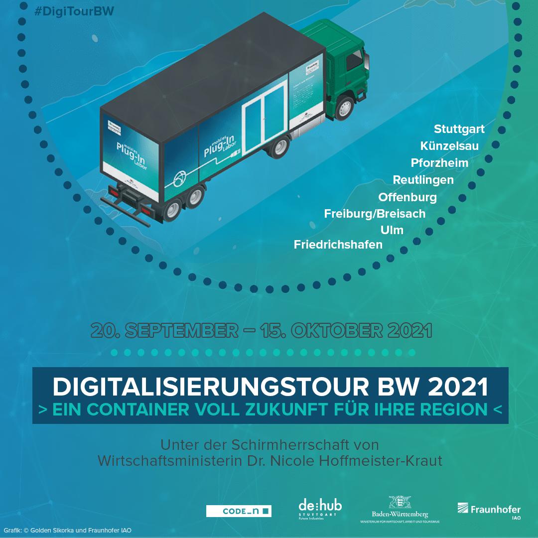 Digitalisierungstour BW, CODE_n, Startup, Innovation, Industrie 4.0
