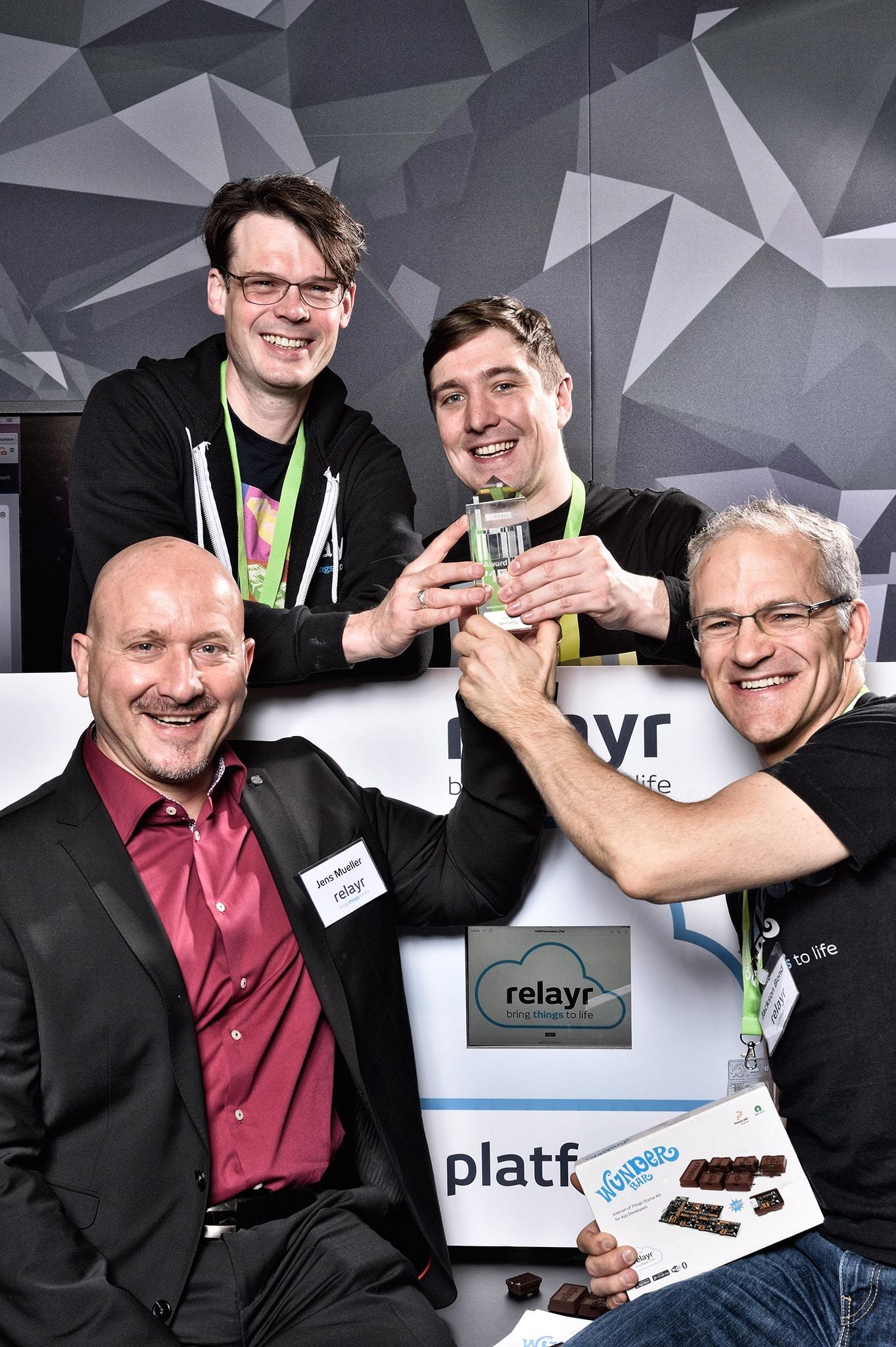 CODE_n Startup Contest 2015 Winner Relayr