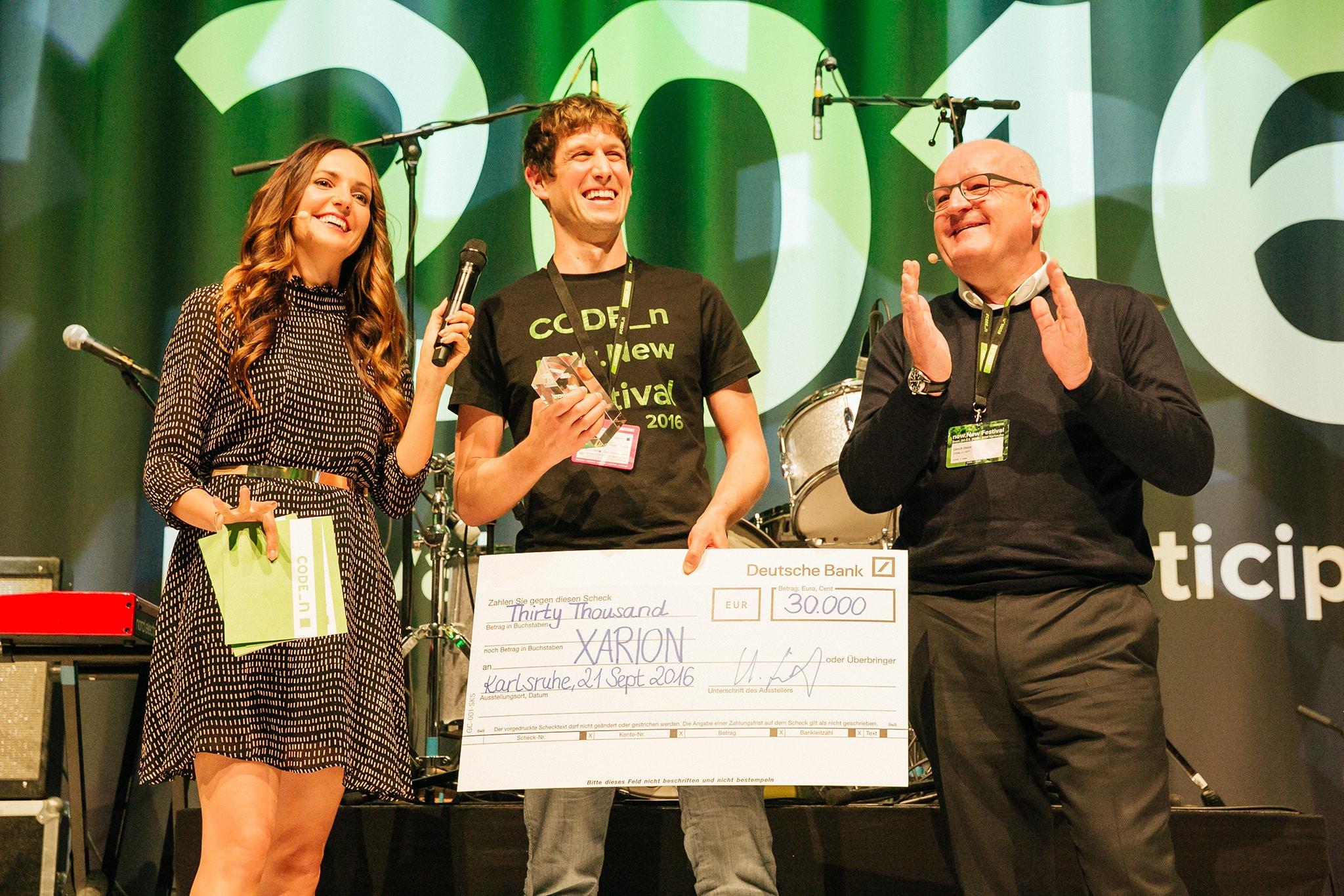 CODE_n new.New Festival 2016 Startup CONTEST Winner