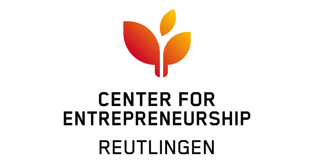Community Partner  de:hub, Logo Hochschule Reutlingen