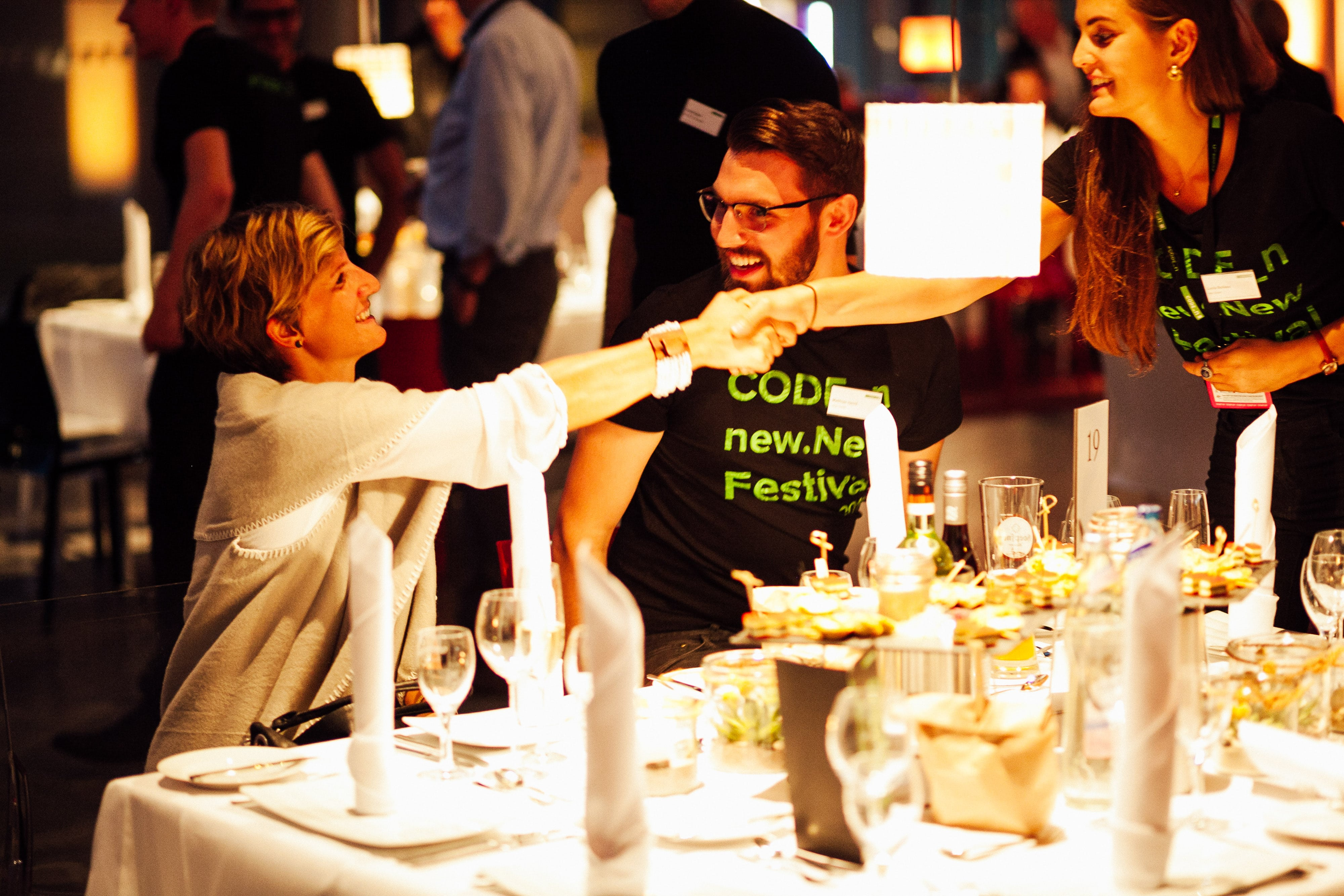 CODE_n new.New Festival 2016 Pioneers' Dinner