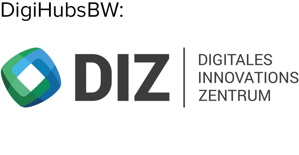 DIZ | Digitales Innovationszentrum GmbH Logo, CODE_n, innovation, spaces, Startup