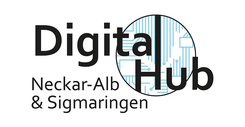 Digital Hub Neckar-Alb und Sigmaringen Logo, CODE_n, innovation, spaces, Startup