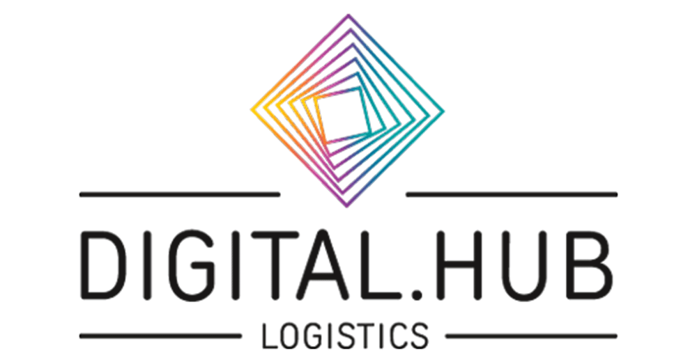 Digital Hub Logistics Logo, CODE_n, innovation, spaces, Startup