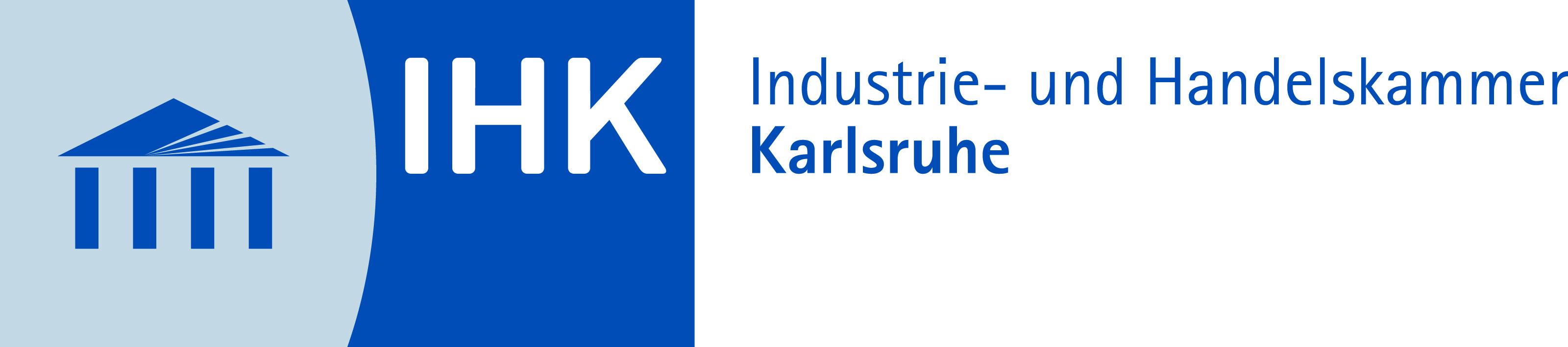 Logo der IHK Region Karlsruhe, Partner IOT und KI im Mittelstand