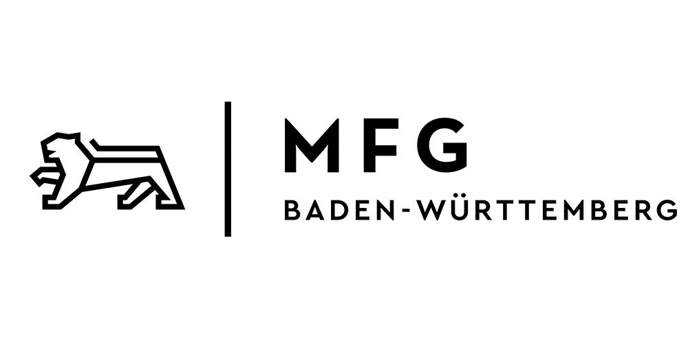 MFG Medien- und Filmgesellschaft Baden-Württemberg Logo, CODE_n, innovation, spaces, startup, network