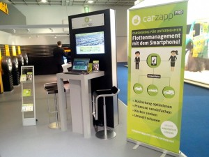 carzapp booth at the IAA