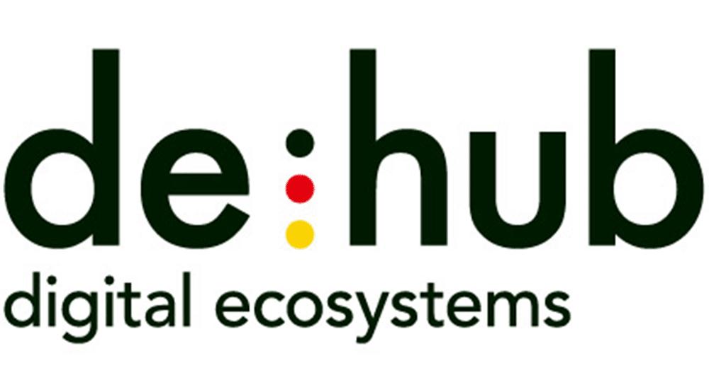 de:hub Logo, Partner, Innovation, Industrie 4.0