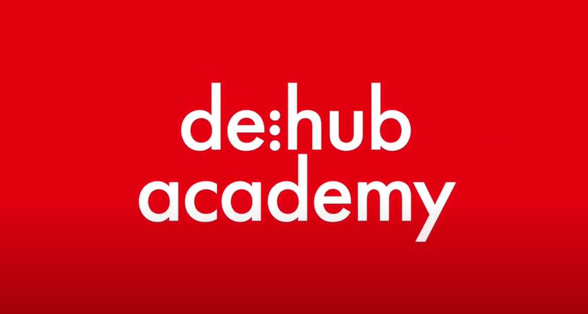 de:hub academy videos, youtube, startups, spaces, coworking, networking, learning