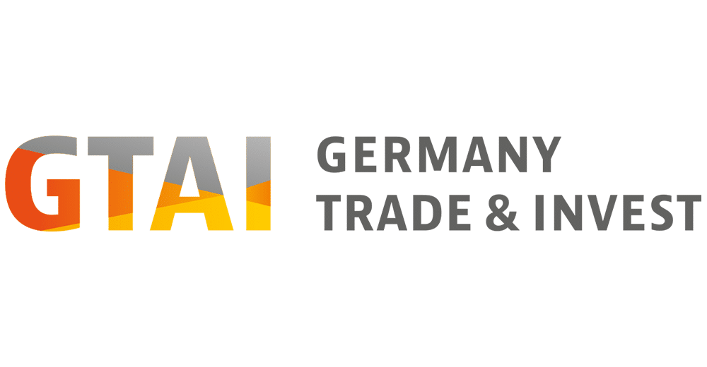 Germany Trade & Invest Logo, CODE_n, innovation, spaces, Startup